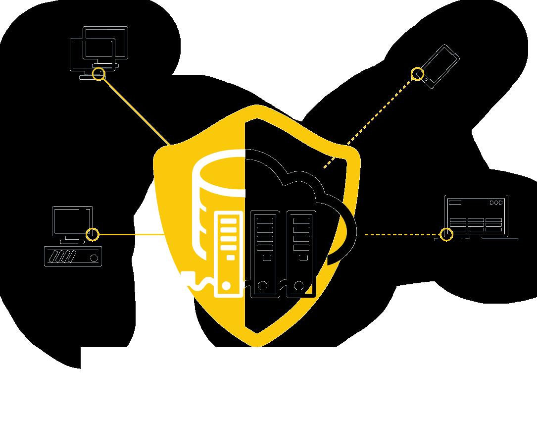 Seguridad para infraestructuras Híbrida