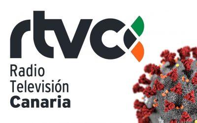 Velorcios Group en los Informativos de Radio Televisión Canaria por la situación del Covid – 19