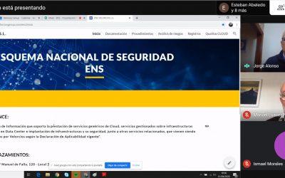 Velorcios Group organiza un webinar sobre el ENS