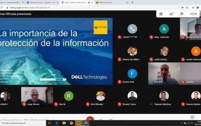 Velorcios Group y DELL Technologies celebran un webinar sobre la Protección del dato