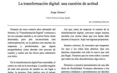 La transformación digital: una cuestión de actitud