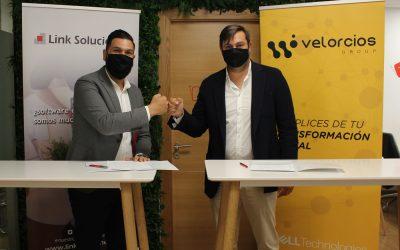 Velorcios Group y Link Soluciones estrechan lazos de colaboración