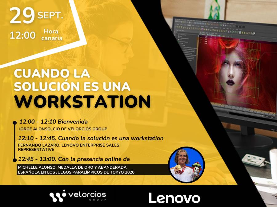 Webinar: Cuando la solución es una workstation